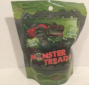 Brand New Monster Treads Monster Vehicle in Sludge Sealed Bag Series 1 Truck Car