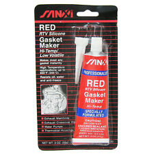 Rtv Professional Use Silicone Gasket Maker Red High Temp Sealant 85g 3oz Tube
