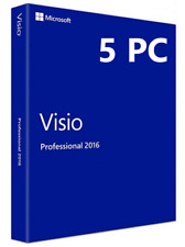 Microsoft Visio 2016 Professional Plus - FULLY WORKING KEY -  5 PCS!!!