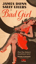 Bad Girl Original  Movie Herald from the 1931  Movie