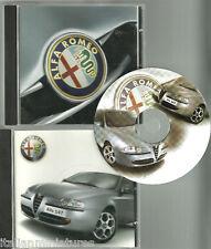 Alfa Romeo CD ROM Case 147 Mint Condition Never Used Sealed Box