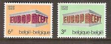 BELGIUM # 718-9 MNH EUROPA 1969