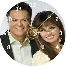 BRAND NEW Donny and Marie Osmond CD Clock