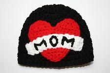 New Crochet Heart Baby Boy Girl Hat Newborn 0-3 month Love Mom Handmade