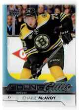 2017-18 UPPER DECK CLEAR CUT ACETATE CHARLIE MCAVOY ROOKIE BOSTON BRUINS #242