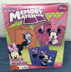 Disney Minnie Mouse Floor Memory Match Game