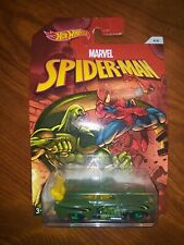 """Hot Wheels~2016~Marvel """"Spider-Man""""~Jaded~Wal-Mart Exclusive! #4/6~New~Read!"""