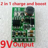 9V 2in1 Charger & Discharger Board DC-DC Converter Step-up Module 3.7V to 9VDC