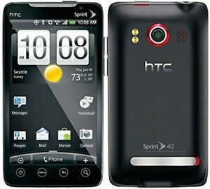 Sprint HTC Evo 4G Android Cell Phone Black Without Contract