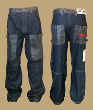 Jet Lag Jeans Hose W29/L32 dark blue blau work weit 013 Baumwolle Baggystyle NEU