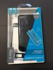 Speck CandyShell & Faceplate Case for iPhone 5c - Black