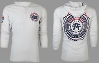 AMERICAN FIGHTER Mens Hoodie Sweat Shirt Jacket CAPELLA Athletic Gym MMA $60