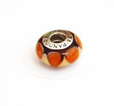 """Genuine Pandora Murano Glass Bead """"Captivating Brown"""" - 790638 - retired"""