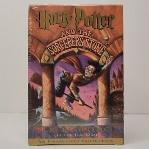 Harry Potter and the Sorcerer's Stone Cassette Book on Tape NIB