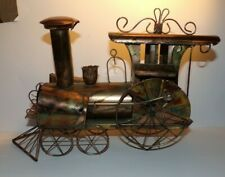 "HTC Tin Old Train Engine Music Box - Plays: ""I've been working on the railroad"""