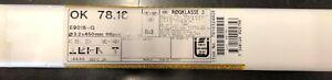 ESAB basische Sonderelektrode OK 78.16 3,2 x 450 MM 118 Stück 5,5 KG