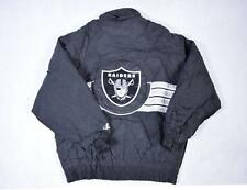 Large Vintage Padded Oakland Raiders 90's Festival Jacket