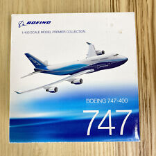 Boeing 747 400 1:400 Scale Model Diecast Premier Collection Engine Needs Repair