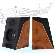 USB 2.0 Computer Speakers PC Laptop Desktop System with Stereo Bass Subwoofer HY