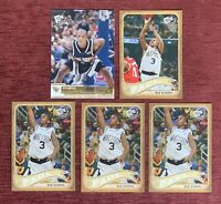 Lot of (5) 2005-06 Press Pass CHRIS PAUL Rookie Card Gold #G26 Old School RC🔥