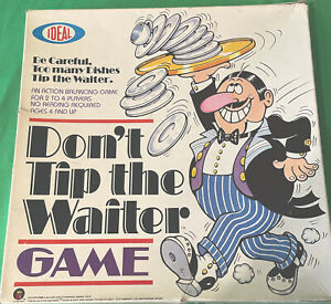 Vintage 1980's Dont Tip The Waiter Game Boxed