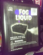 FOG Machine LIQUID / JUICE - Water Based 32oz Factory Sealed w/ Child proof Cap
