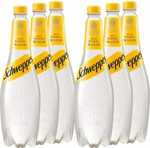 Schweppes Tonic Water 1L x 6