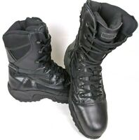 Mens Reebok Black Tactical Boots Leather RB8874 Composite Toe Size 15W Lace