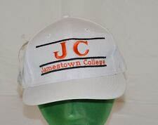 New NCAA JC Jamestown College White Snap Back Hat Cap