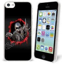 COQUE CASE - Iphone 3G-3GS-4-4S-5-5S-5C-6-6plus + 1 FILM  REF 130 SKULL B
