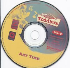 Jump Start Advanced Toddlers - Art Time - (Cd #3 early education kids fun learn)