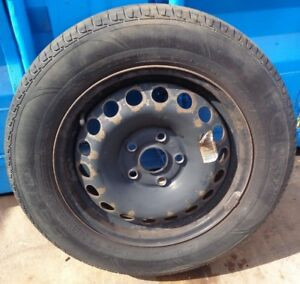 2011 VW GOLF MK6 15'' STEEL WHEEL & TYRE 195/65R15    SEE ALL PICTURE