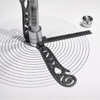 Multifunktionales Zeichenlineal Lineal Zeichnen Kompasslineal Rostfreier Stahl