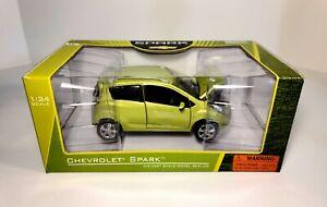 1/24 2011 Chevrolet Spark Gt Norscot Diecast Car GREEN Color