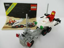 LEGO 6870 Classic Space Probe Launcher --Complete!- w/ Instructions Vintage 1981