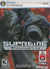 SUPREME COMMANDER - Original RTS Strategy PC Game - NEW in BOX!