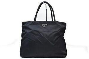 Prada Tote Bag  Black Nylon 1604231