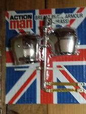 Action Man Breast Plate Armor - GiJoe Geyper Man 1/6 Madelman Figurine 12 pouces