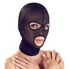 Bad Kitty Kopfmaske offen Spitze schwarz Augenöffnung Mundöffnung sexy Catwoman
