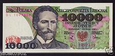 10000 ZL - zloty/złotych - POLAND/POLEN/POLSKA-1988 - S.WYSPIANSKI -P-151b -UNC