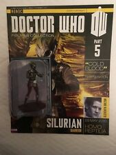 BBC SERIES DOCTOR WHO DR ISSUE 5 SILURAIAN WARRIOR EAGLEMOSS FIGURINE + MAGAZINE