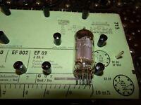 Röhre Valvo EF 89 Tube 5 mA Valve auf Funke W19 geprüft BL-1904