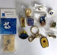 1996 Atlanta Olympic Pins Lot 12 Korea Keychain
