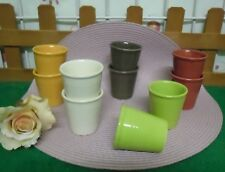 LOT DE 10 TASSES A CAFE  NEUVES 2 x 5 couleurs