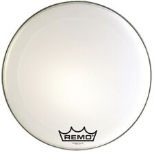 Remo PM2016-MP 16-Inch Bass Drum Heads, Ultra White