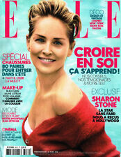 April Elle Magazines in French