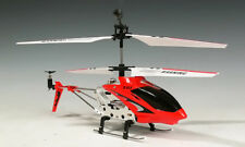 SYMA S107G Gyro RC Helicopter S107 Infrared 3CH Mini Alloy Metal Heli - RED