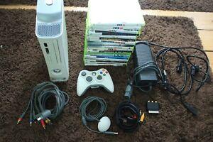 Microsoft Xbox 360 Konsole mit 18 Spielen / 60GB / + Controller