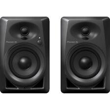 Pioneer DM-40 4-inch Compact Active Monitor Speaker Pair, Black +Picks