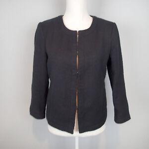 BANANA REPUBLIC blazer,JACKET,SZ 8 career work 3/4 sleeve t3